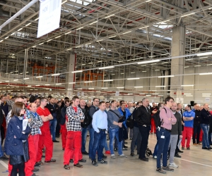 Meeting with Employees of Z-2, <br>March 27